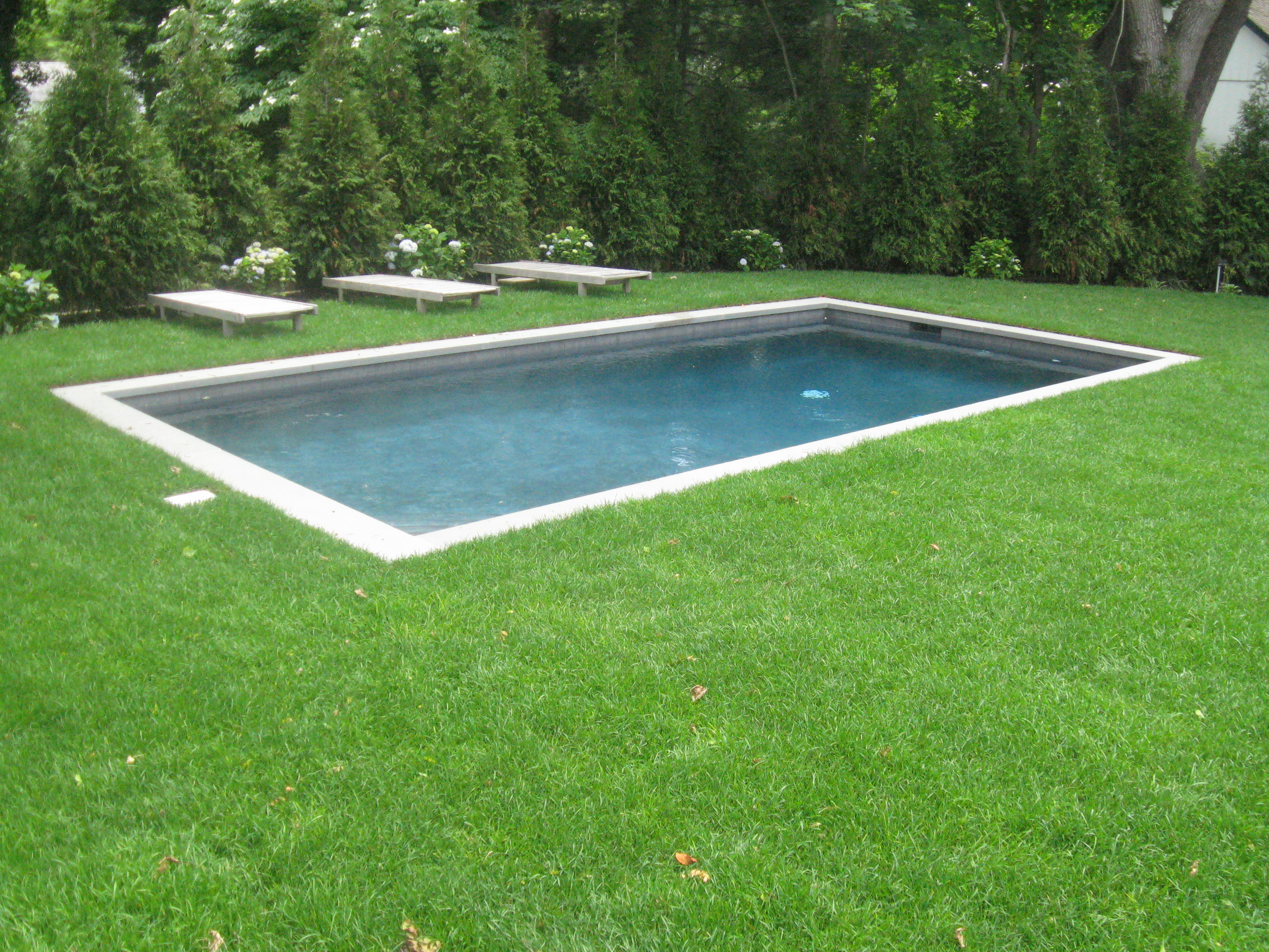 Pool Design Ideas Small Inground Pools Kazdin Pools Spas